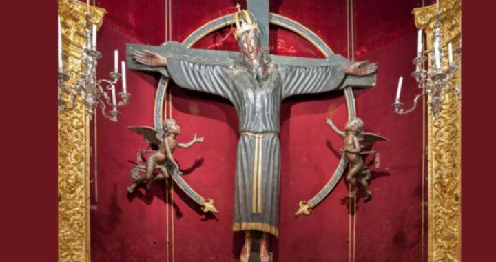 La scienza ha confermato l'incredibile età di questo famoso crocifisso