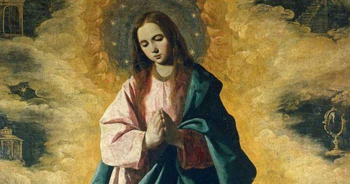 Preghiera all'Immacolata Concezione