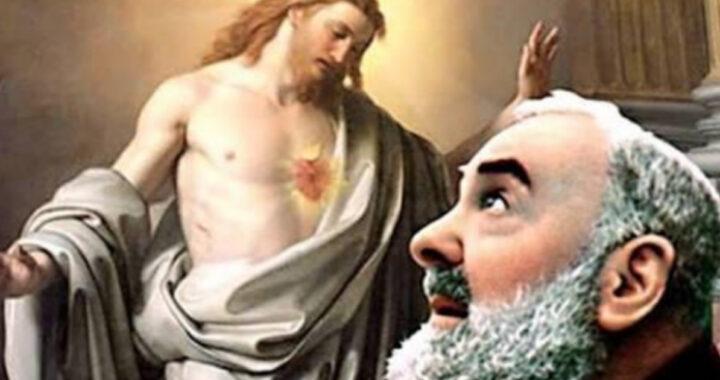 La preghiera di Padre Pio per il Sacro Cuore di Gesù
