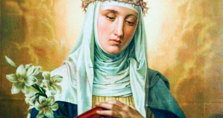 Come pregare Santa Caterina da Siena per evitare un aborto spontaneo