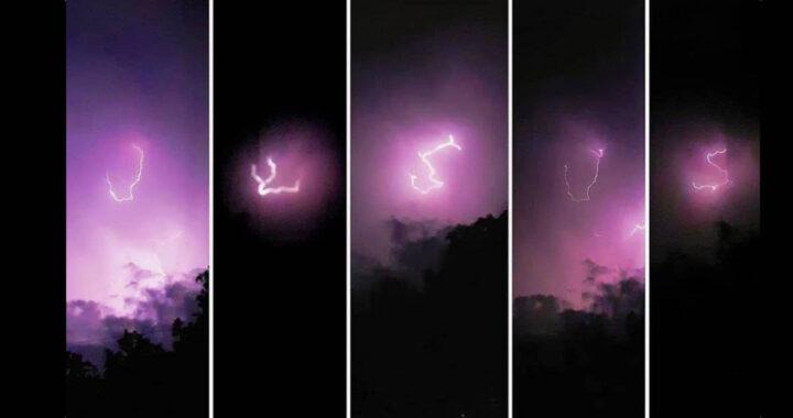 Fulmini scrivono il nome di Gesù nel cielo, il VIDEO fa il giro del mondo