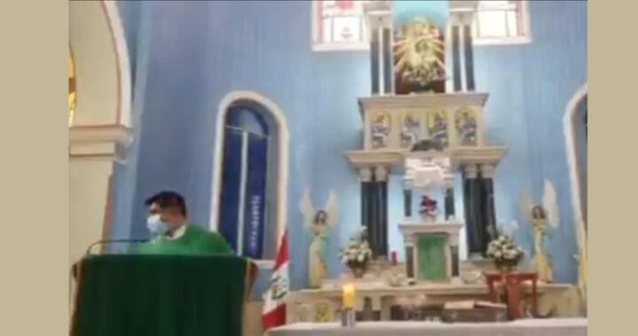 Forte terremoto scuote la chiesa durante la Messa e danneggia la Cattedrale (VIDEO)