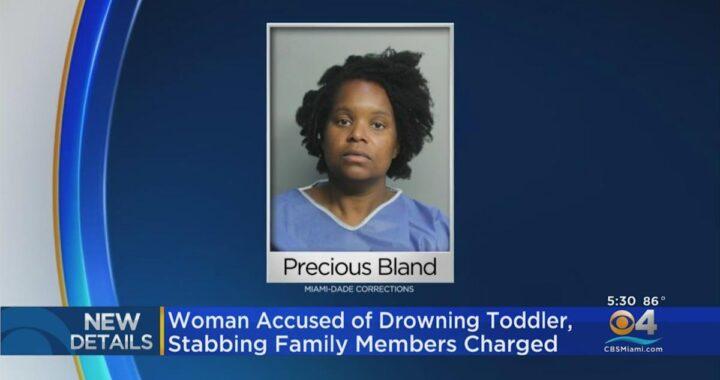 """敵基督的靈? 女人淹死她的孩子並刺傷她的丈夫和女兒聲稱""""耶穌基督就在附近"""""""