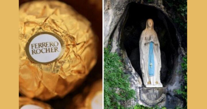 C'è un legame tra il Ferrero Rocher e la Madonna di Lourdes, lo sapevate?