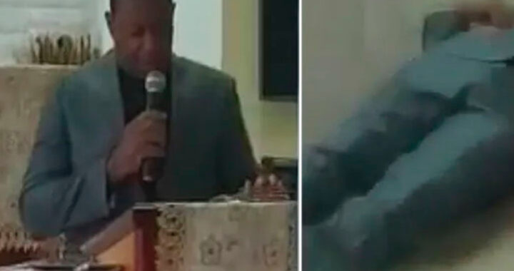 Pastore dominicano muore durante la predica (VIDEO)