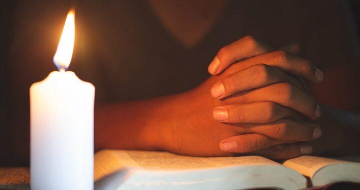 Recita questa preghiera prima di andare a letto