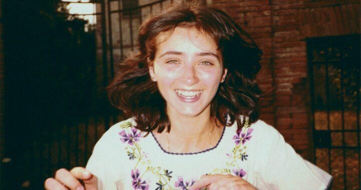 Sandra Sabattini, som är den första flickvän som blivit välsignad