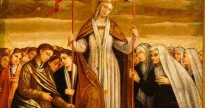 Sant'Orsola, dess historia och bönen om att få hans nåd